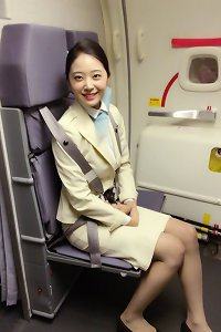 japanese air hostess